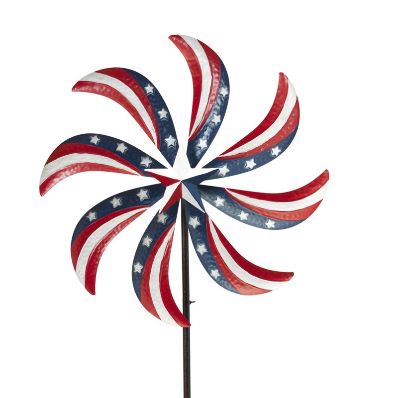 Americana Wind Spinner 63inh