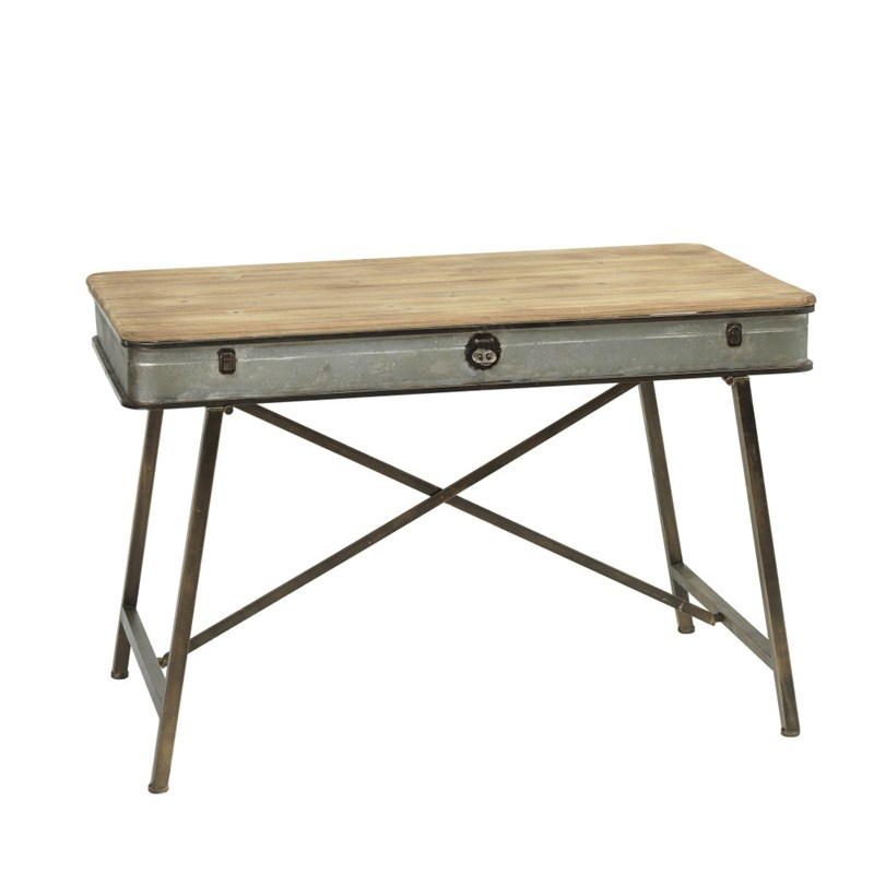 43inl Antique Work Table