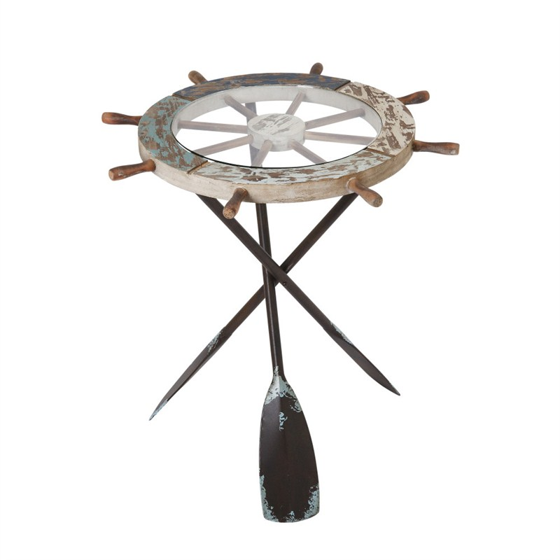 Nautical Side Table 24.4inh
