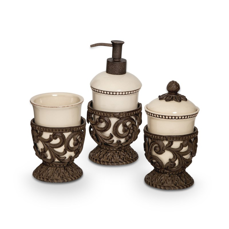 Acanthus Vanity Containers, 3
