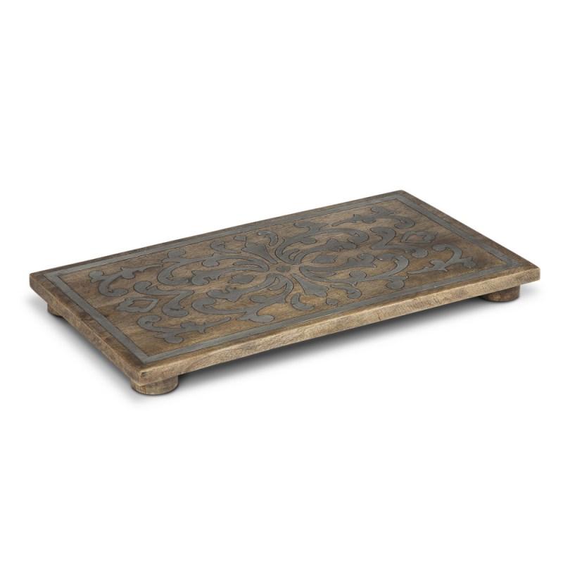 Wood And Metal Trivet