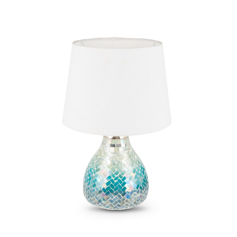 Blue Ombre Lamp