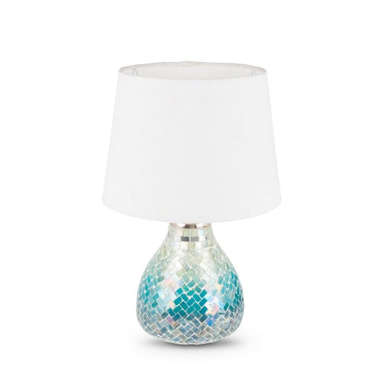 Blue Ombre Lamp