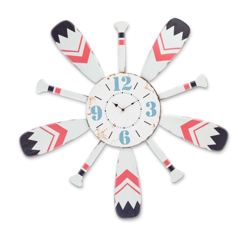 Wood Paddle Clock