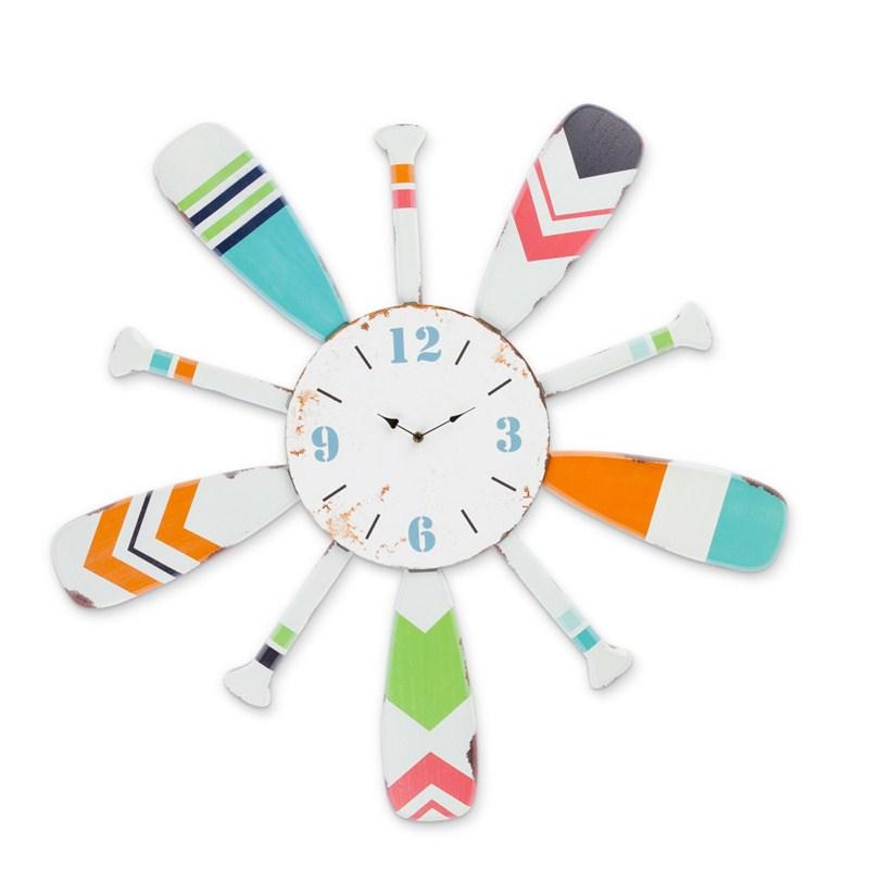 Wood Oar Clock