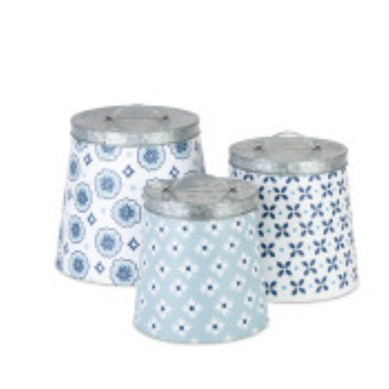 Nested Canisters Set Of 3