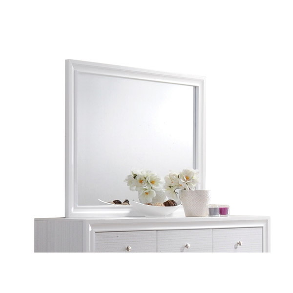 Acme Naima Mirror, White