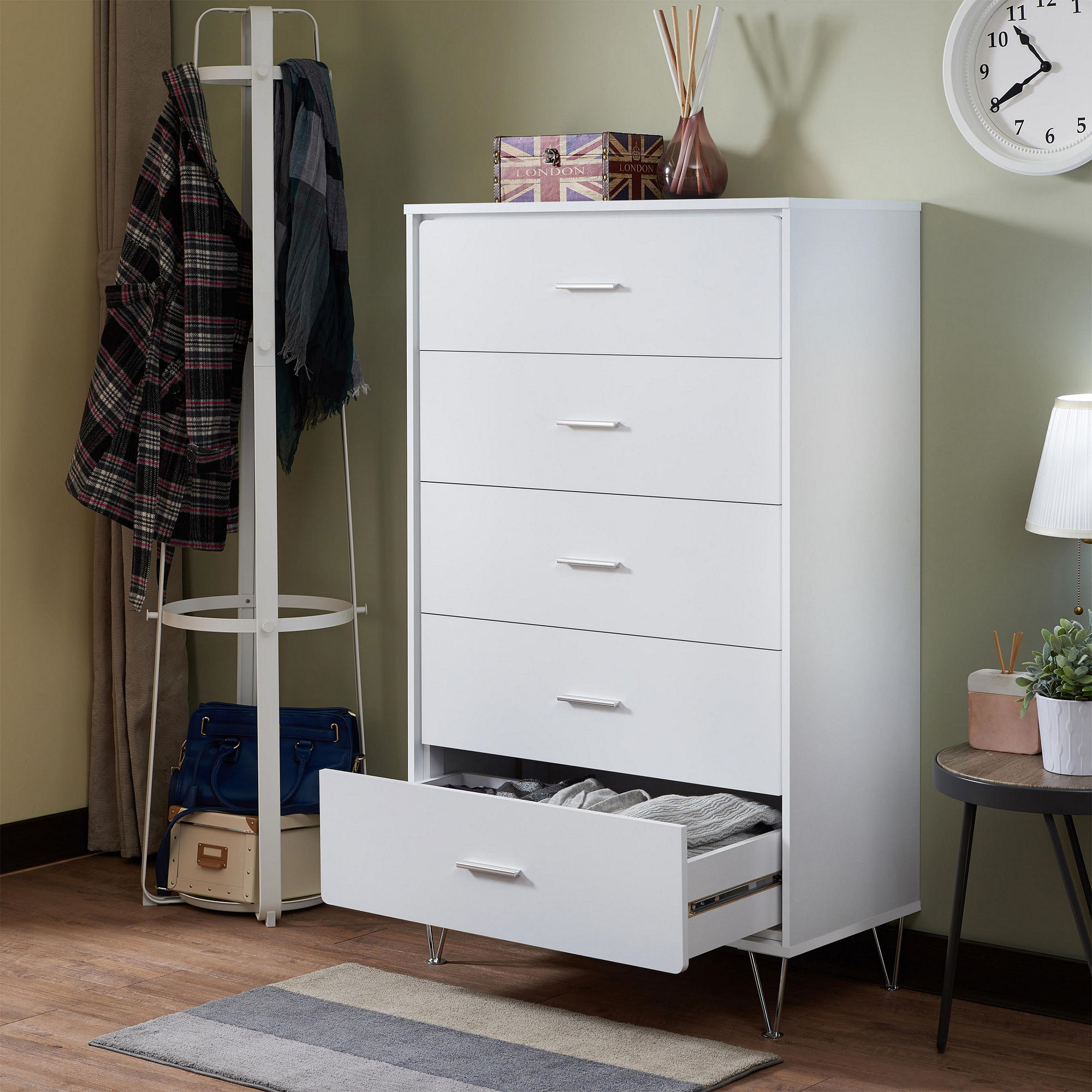 Acme Deoss Chest, White