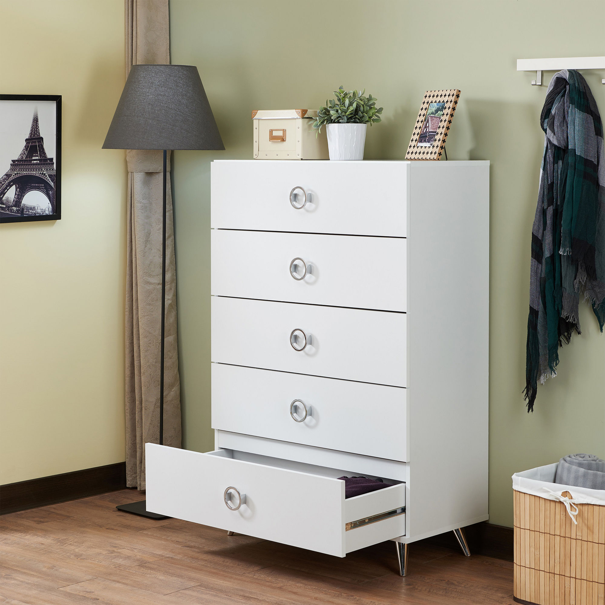 Acme Elms Chest, White