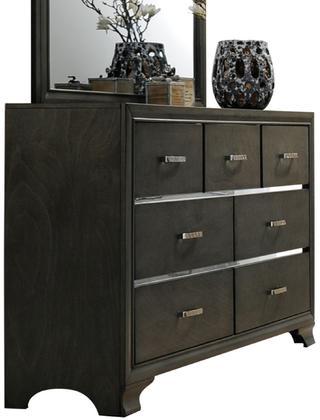 Acme Carine Dresser, Gray