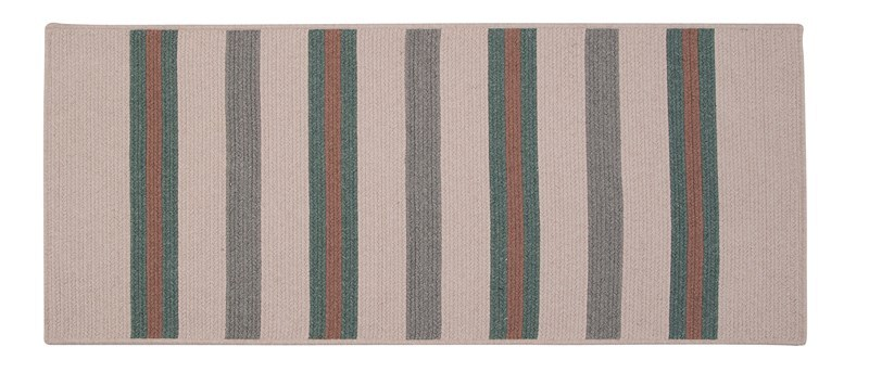 Allure Braided Green Area Rugs