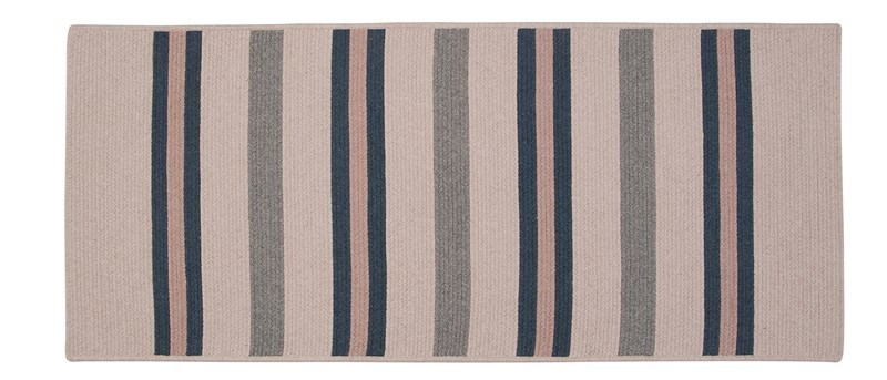Allure Braided Blue Area Rugs