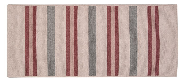 Allure Braided Pink Area Rugs