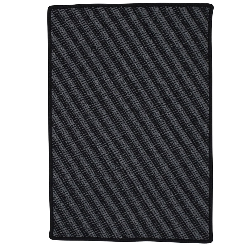 Blue Hill Braided Black Area Rugs