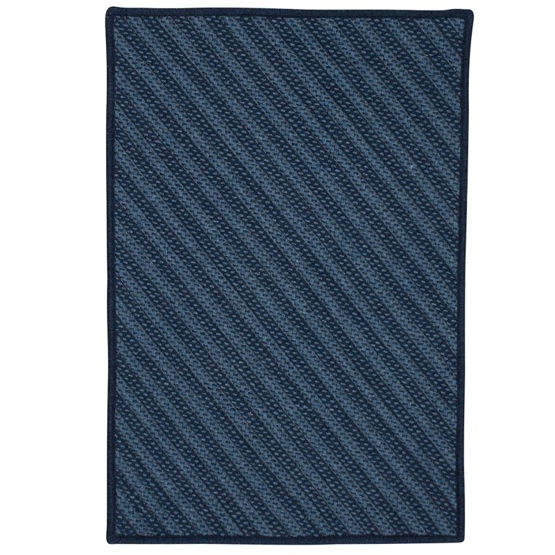 Blue Hill Braided Navy Area Rugs
