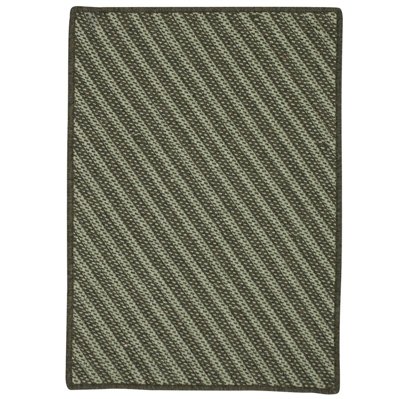 Blue Hill Braided Moss Green Area Rugs