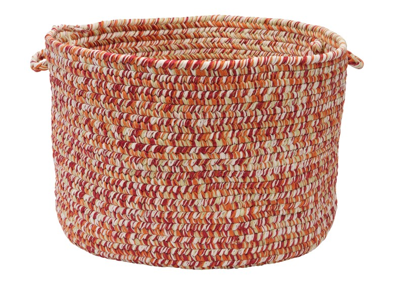 Catalina Basket Braided Red Area Rugs