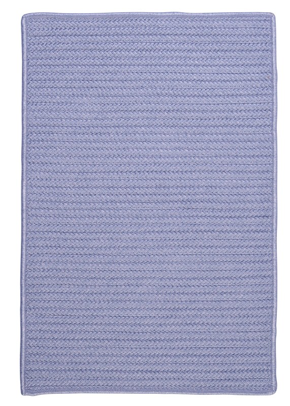 Simply Home Solid Braided Purple Area Rugs