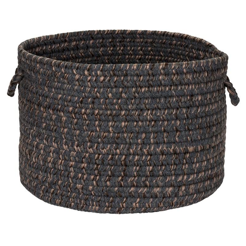 Hayward Basket Braided Gray Area Rugs