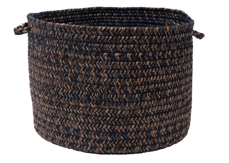 Hayward Basket Braided Blue Area Rugs