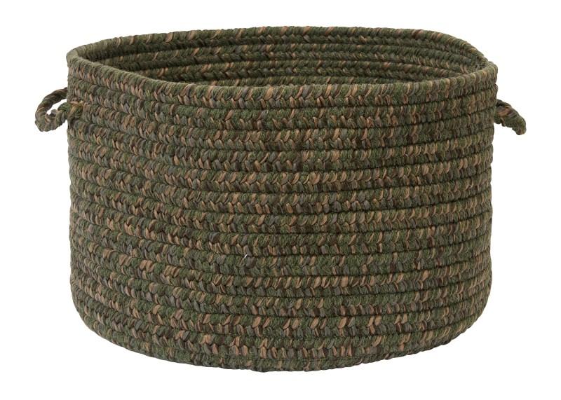 Hayward Basket Braided Green Area Rugs
