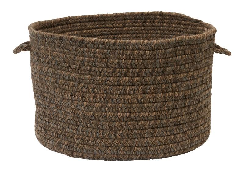 Hayward Basket Braided Brown Area Rugs