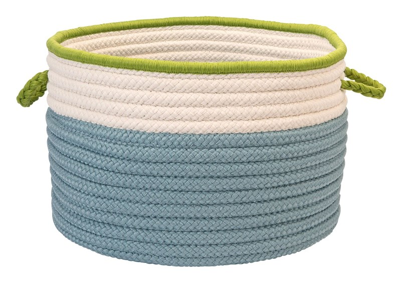 In The Band Storage Bins Braided Blue Area Rugs