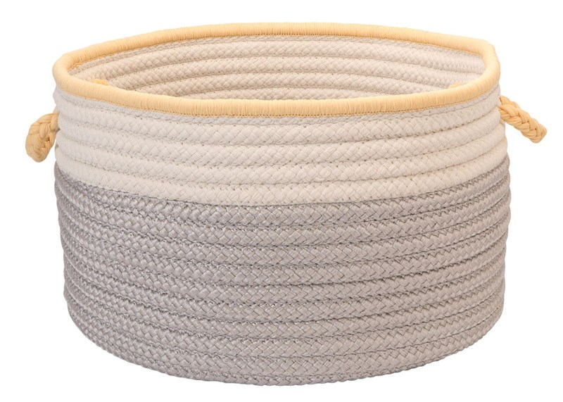 In The Band Storage Bins Braided Gray Area Rugs