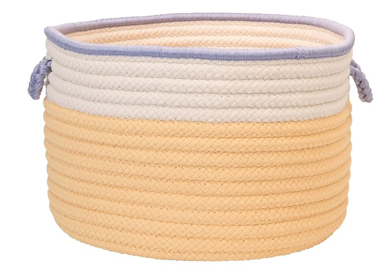 In The Band Storage Bins Braided Yellow Area Rugs