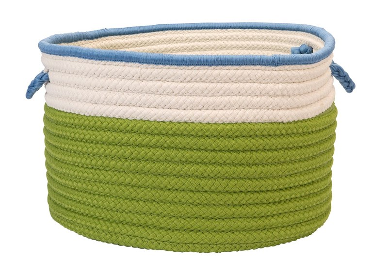 In The Band Storage Bins Braided Green Area Rugs
