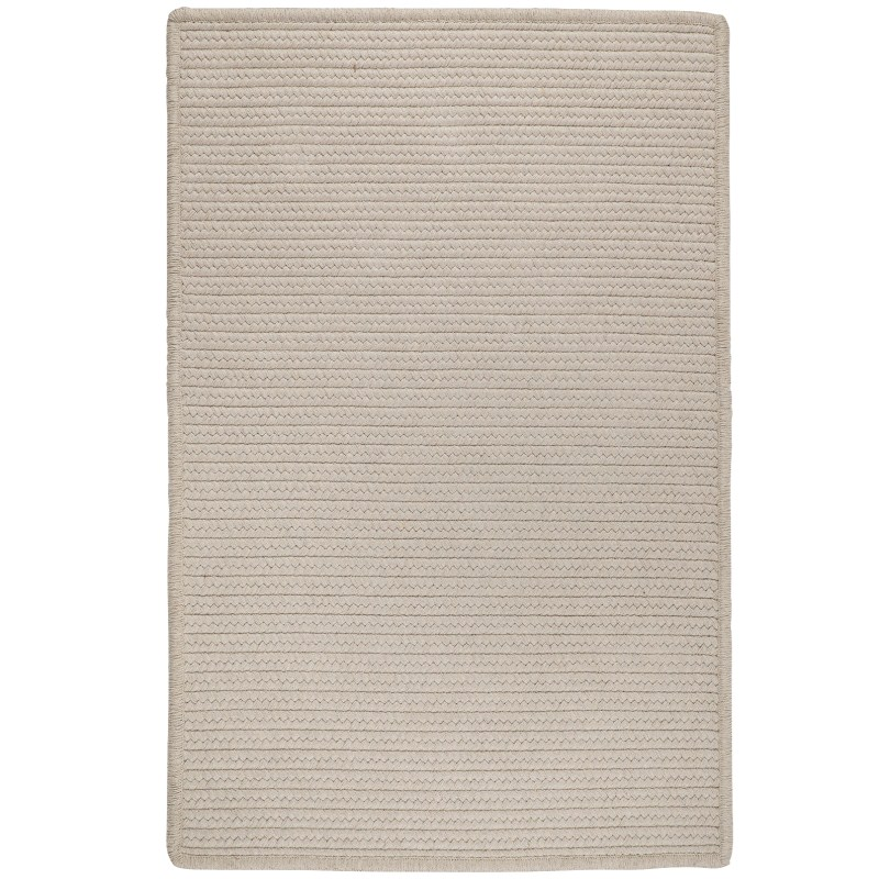 Sunbrella Solid Braided Natural Area Rugs