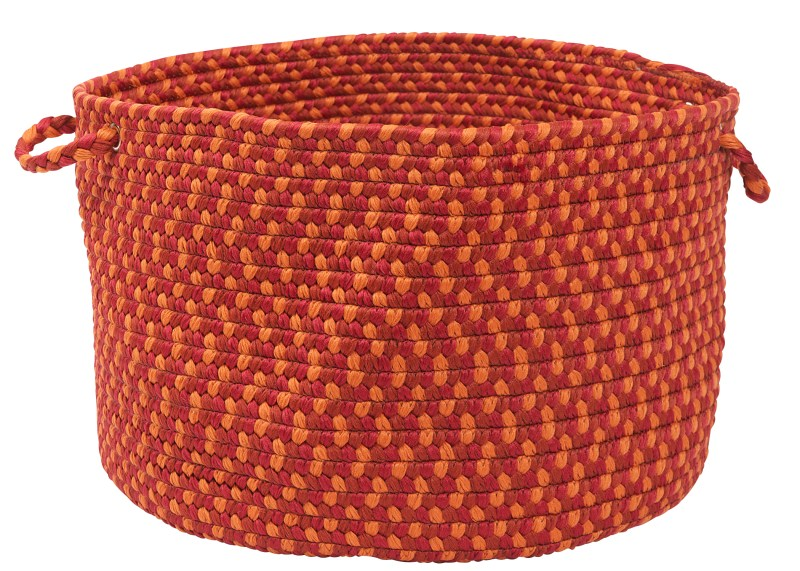 Montego Basket Braided Red Area Rugs