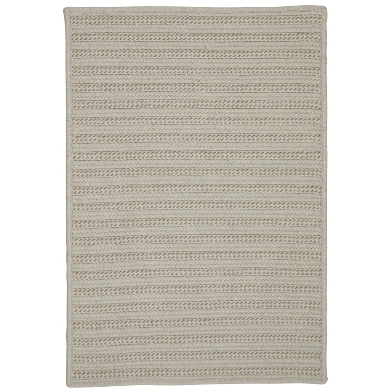 Sunbrella Booth Bay Braided Natural Area Rugs