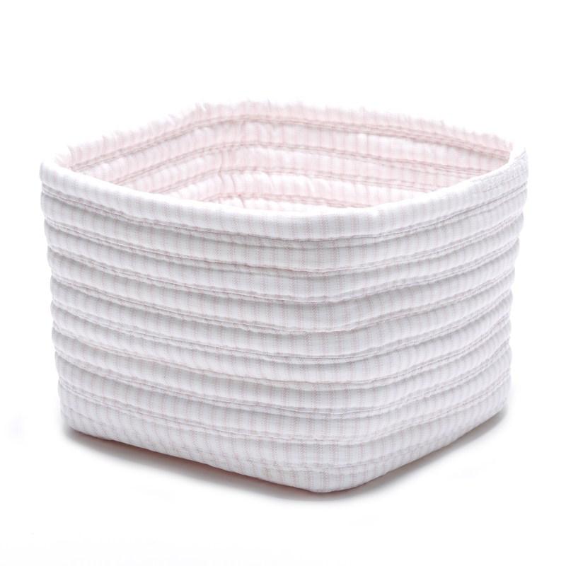 Ticking Shelf Storage Braided Pink Area Rugs