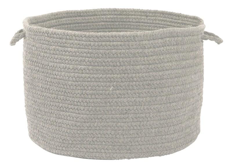 Bristol Basket Braided Gray Area Rugs