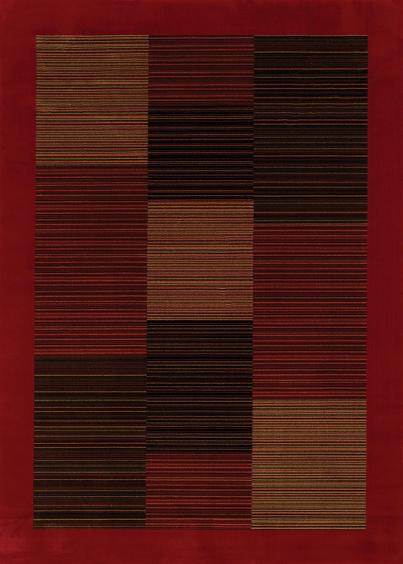 Everest Power-loomed Red Area Rugs