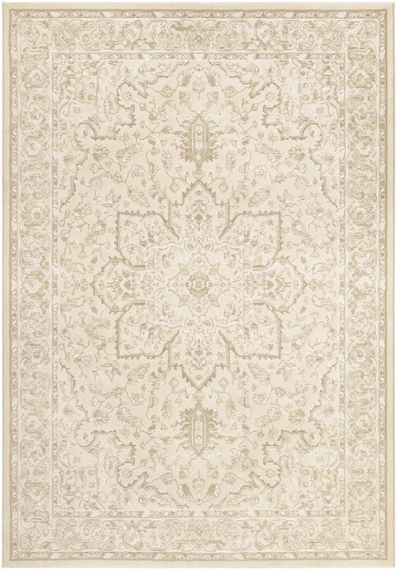 Marina Power-loomed Champagne Area Rugs