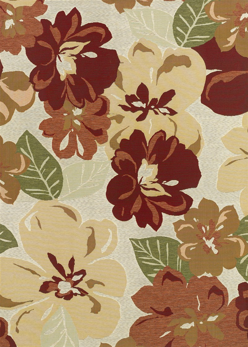 Dolce Power-loomed Rose Bud Area Rugs