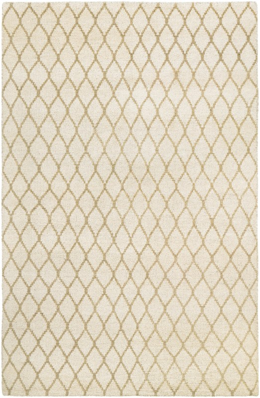Retrograde Hand-knotted Tan-camel Area Rugs