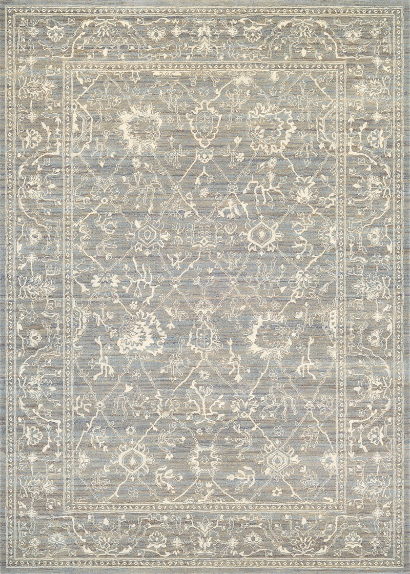 Everest Power-loomed Charcoal-ivory Area Rugs