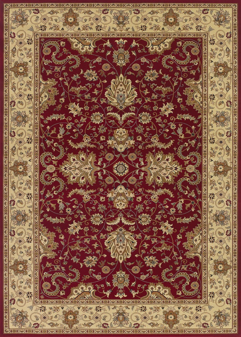 Izmir Power-loomed Red Area Rugs