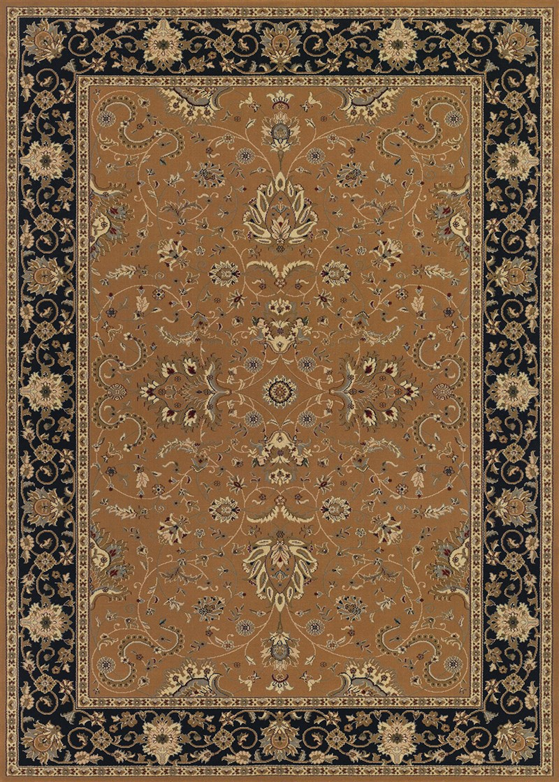 Izmir Power-loomed Gold Area Rugs
