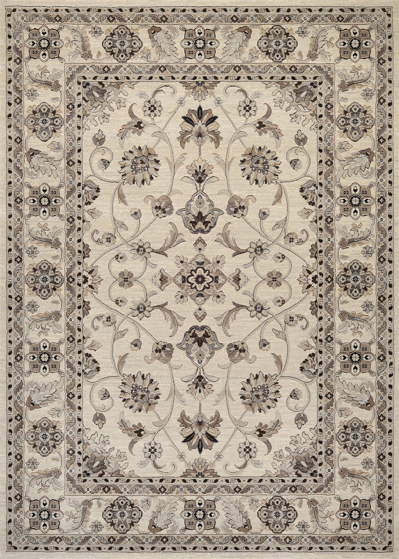 Everest Power-loomed Ivory Area Rugs
