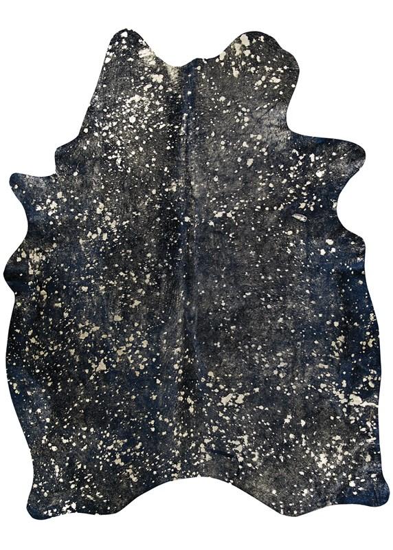 Chalet Moo-nstruck Black Area Rug