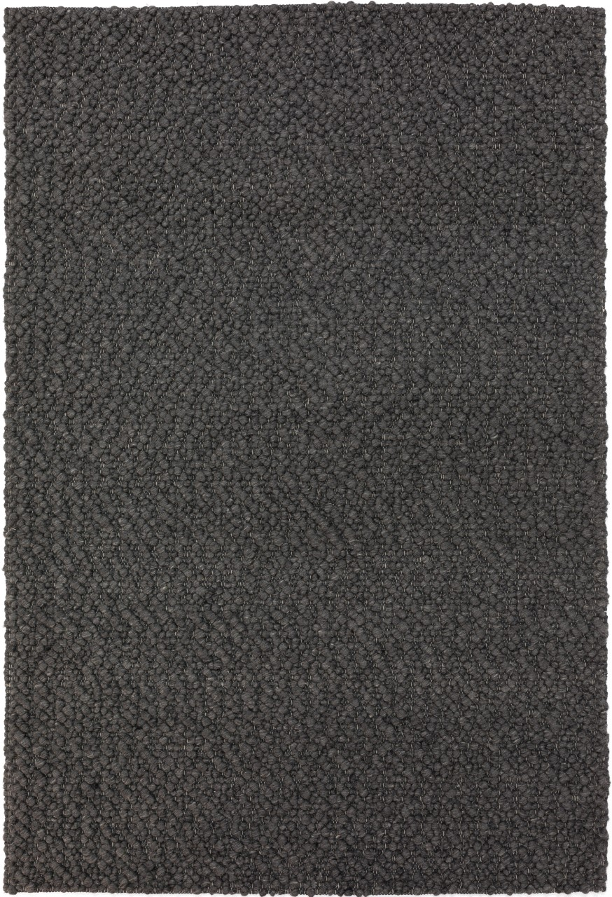 Addison Boulder Chunky Steel Hand Loomed Wool Accent Rug