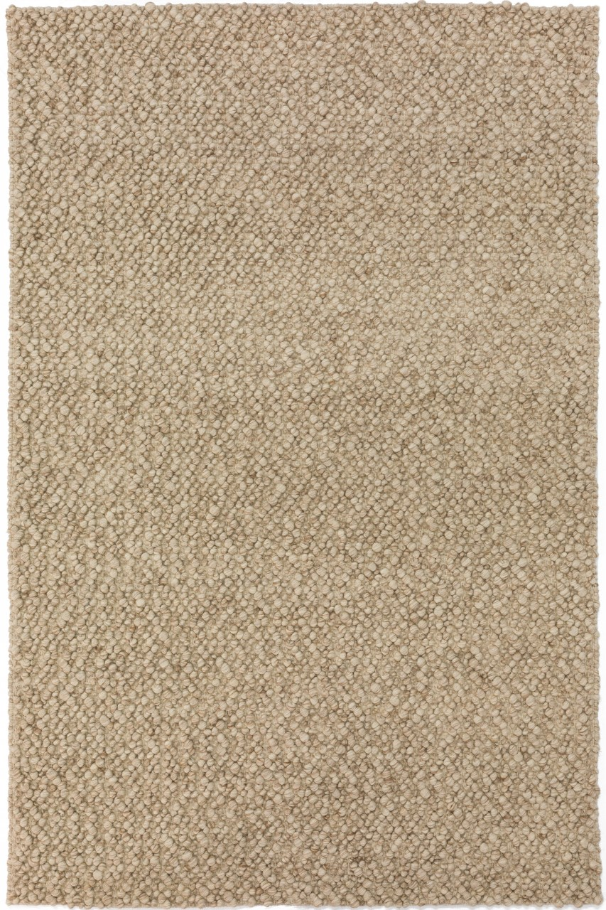 Addison Boulder Chunky Beige Hand Loomed Wool Accent Rug