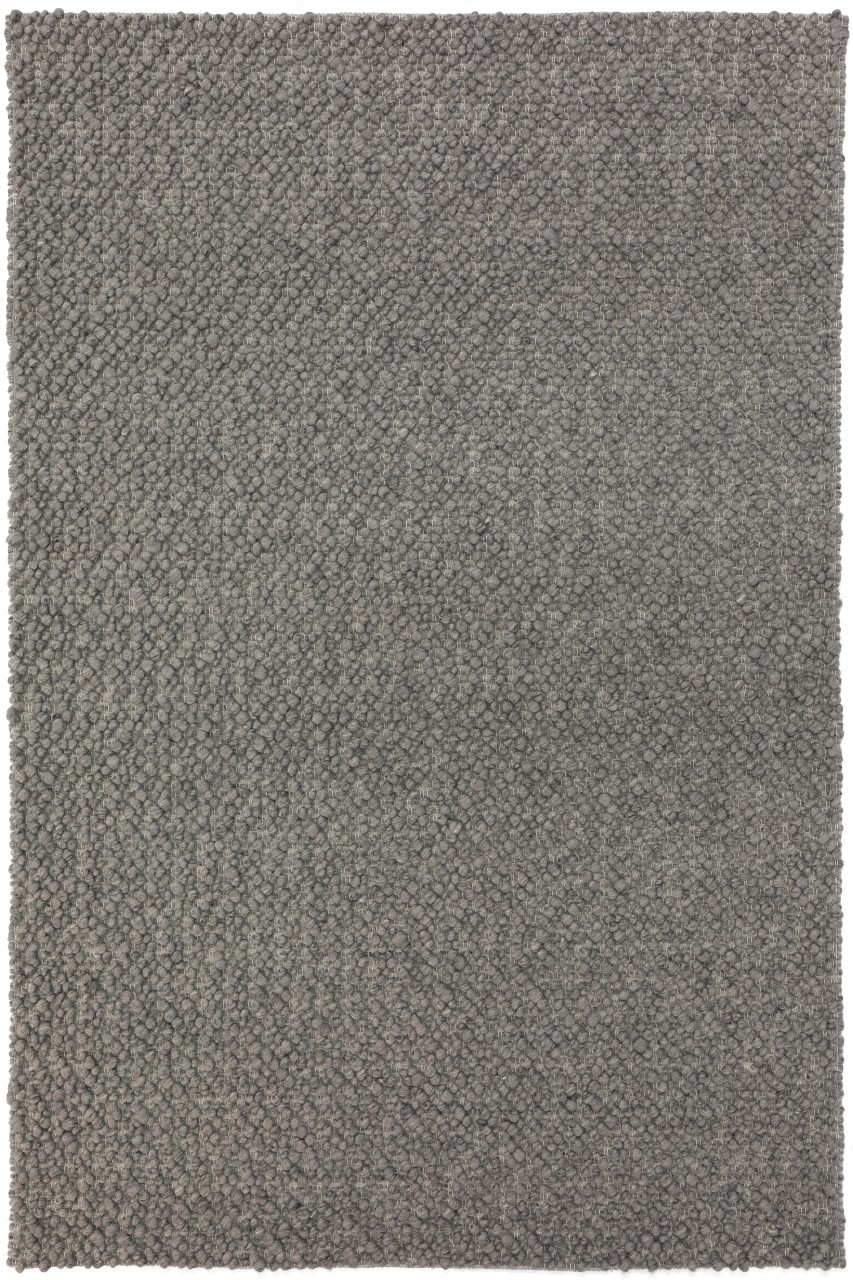 Addison Boulder Chunky Grey Hand Loomed Wool Accent Rug