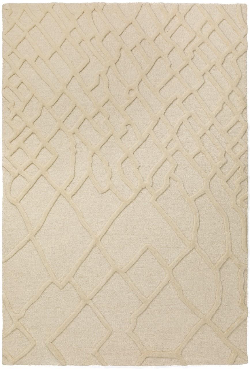 Addison Crest Casual Trellis Linen Hand Spun Wool Accent Rug