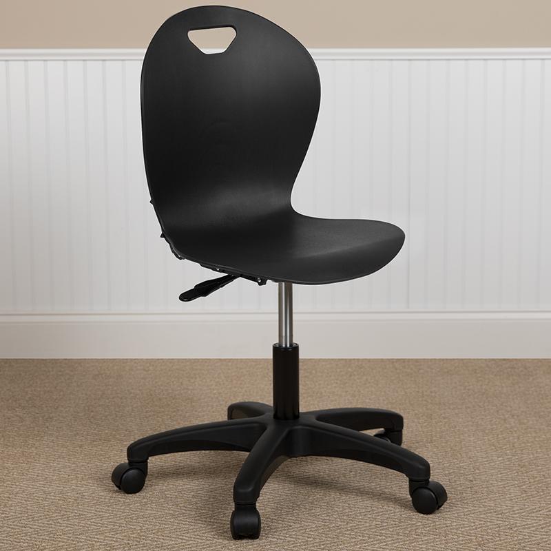 Titan Black Task Chair