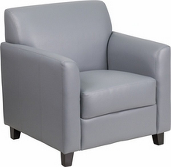Gray Reception Chair